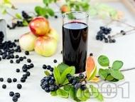 Рецепта Сироп от арония с лимони